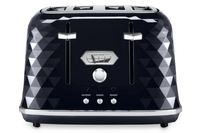 DeLonghi Brillante Exclusive 4 Slice Toaster Black