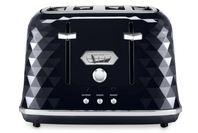 DeLonghi Brillante Exclusive 4 Slice Toaster Black