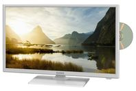 Evoke 24inch HD LED/LCD Television with DVD (White)