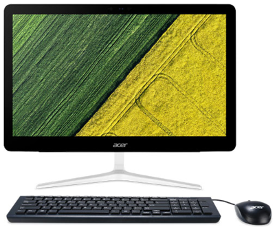Acer Aspire 23.8in FHD Celeron 4GB 1TB PC (Ex-Display Model Only)