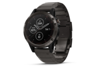 Garmin fenix 5S Plus Carbon Grey DLC Titanium with DLC Titanium Band