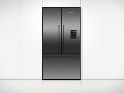 Rf610adub5 fisher paykel 614l black french door fridge 4