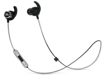 JBL Reflect Mini 2 Sweatproof Wireless Sport In-Ear Headphones Black