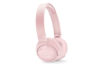 JBL TUNE600 Wireless On-Ear Active Noise-cancelling Headphones Pink