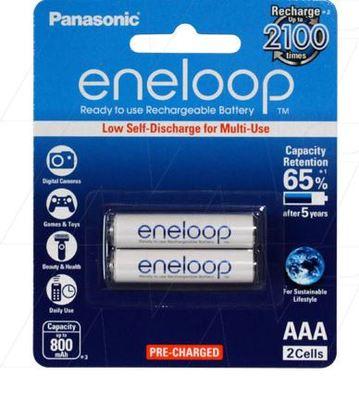 Eneloop Rechargeable Battery AAA 2pack