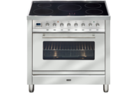 ILVE 90cm Stainless Steel Induction Freestanding Cooker