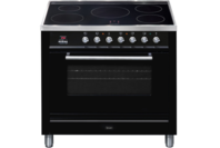ILVE 90cm Black Induction Freestanding Cooker