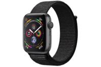 Apple Watch Series 4 GPS 40mm Space Grey Aluminium Case with Black Sport Loop