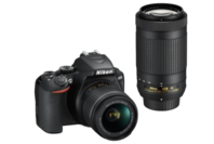Nikon D3500 DSLR Twin Lens Kit with 18-55mm & 70-300mm Lens + Bonus Offer