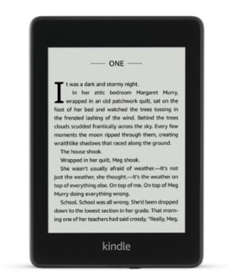 Amazon Kindle Paperwhite (2018) WiFi 8GB - Black