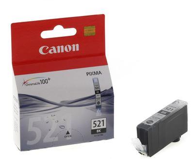 Canon Ink CLI521BK Black Cartridge