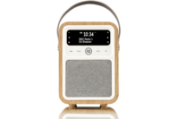 VQ Monty DAB / DAB+ Digital Radio and Bluetooth Speaker Oak