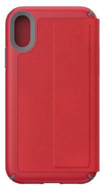 117062 7359 speck iphone xr folio case red grey 2