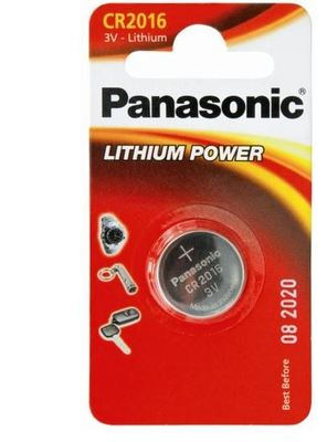 Panasonic Battery 3V 1 Pack Lithium 2016