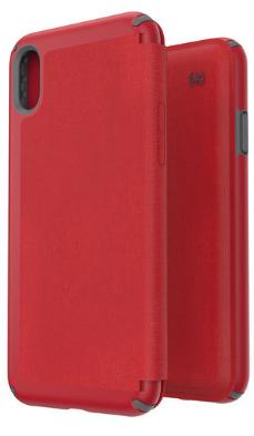 117109 7359 speck iphone xs max presidio folio case red 2