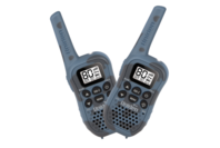 Uniden 80 Channel UHF CB Handheld Radio (Walkie-Talkie) with Kid Zone - Blue Camouflage Twin Pack