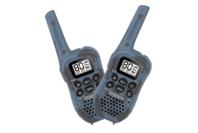 Uniden 80 Channel UHF CB Handheld Radio (Walkie-Talkie) with Kid Zone - Blue Camouflage Twin Pack