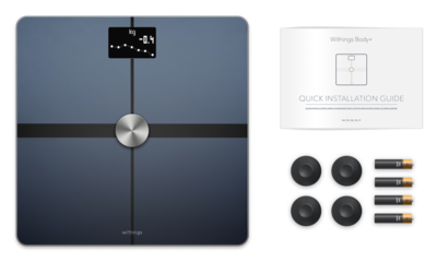 Withings bodplus body composition wi fi scale black 2