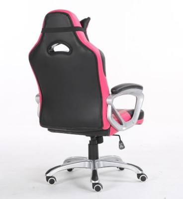 Playmax pc computer gaming chair black pink pgcpb 4