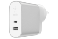Belkin BOOSTUPCHARGE 27W USB-C + 12W USB-A Home Charger