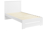 Platform10 Cosmo King Single Bed Frame (White)