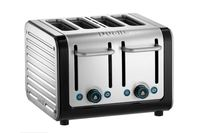 Dualit Architect 4 Slice Toaster - Black/Brushed Steel