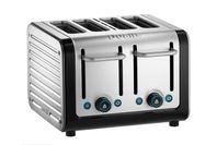 Dualit Architect 4 Slice Toaster - Black/Brushed Steel