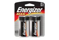 Energizer D Battery 2 Pack
