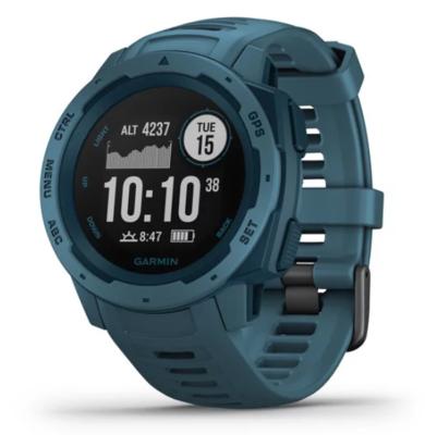 Garmin Instinct Lakeside Blue GPS Watch