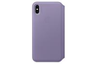 Apple iPhone XS Max Leather Folio - Lilac