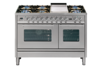 ILVE 120cm Double Electric Oven with Tepanyaki Plate