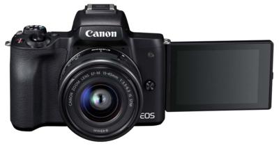Canon m50kisb eosm50 single lens kit mirrorless camera 3