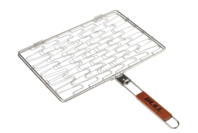 Bull Stainless Rectangle Flexi Grilling Basket