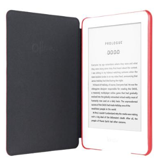 Ollee case for kindle touch 10th gen red 3