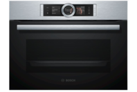 Bosch Built-in Compact Oven with Steam Function Stainless Steel