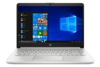 HP NOTEBOOK 14inch NATURAL SILVER - RYZEN3 3200 AU - 8GB - 128GB SSD + 1TB