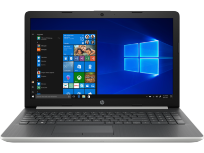 HP NOTEBOOK 15.6inch NATURAL SILVER - RYZEN3 3200U - 8GB - 128GB + 1TB
