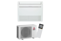 Mitsubishi Electric RapidHeat KJ35 Floor Console Heat Pump