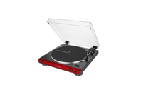 Audio-Technica Auto belt-drive stereo turntable (red)