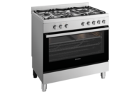 Westinghouse 90cm dual fuel freestanding cooker