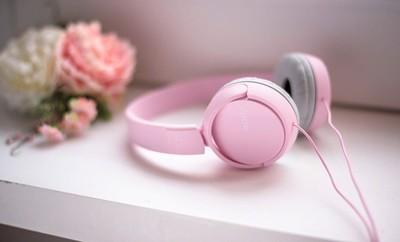 Sony zx110 smartphone headphones   pink %283%29