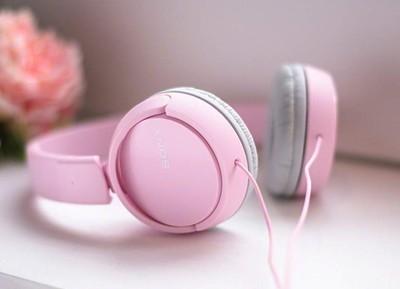Sony zx110 smartphone headphones   pink %284%29