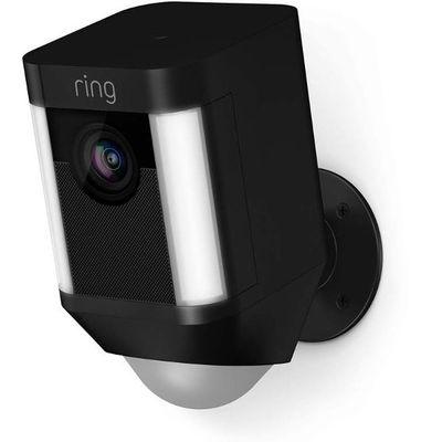 RingSpotlight Wireless Camera - Black