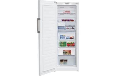 Beko 290L White Frost Free Vertical Freezer - BVF290W