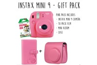 Fujifilm Instax Mini 9 - Flamingo Gift Pack