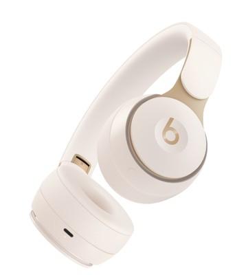 Beats solo pro wireless noise cancelling headphones   ivory %283%29