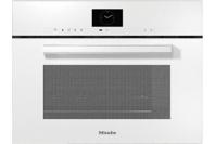 Miele VitroLine Brilliant White Steam Oven with Microwave