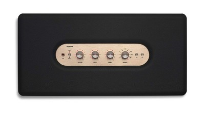 Marshall woburn wireless multi room wifi speaker black %282%29