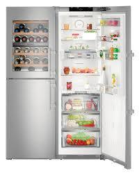 Liebherr 645l side by side fridge freezer with wine cabinet 2
