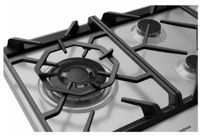 Westinghouse 90cm 5 burner stainless steel gas cooktop %283%29